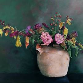 Autumn flowers by Leena Blom-Hilden