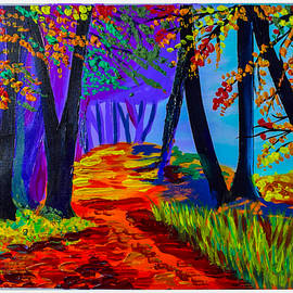 Autumn Forest  by J J