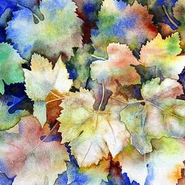 Autumn Grape Leaves by Sharon Patterson
