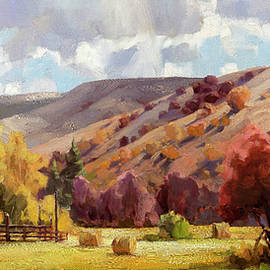 Autumn Illuminated by Steve Henderson