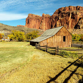 Autumn in Capitol Reef National Park by Gary McJimsey
