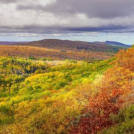 Autumn in Copper Harbor by Susan Rydberg