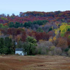 Autumn In Juneau County Wisconsin by Kay Novy
