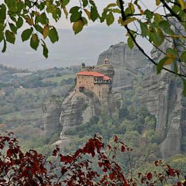 Autumn in Meteora, Greece by Spyros Lambrou