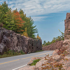 Autumn in the Huckleberry Rock Cut by Andrew Wilson