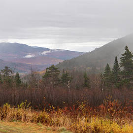 Autumn in the White Mountains NH 3 by Michael Saunders