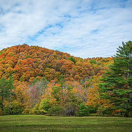 Autumn in Vermont in the Woodstock Countryside 3 by Ron Long Ltd Photography