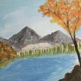 Autumn Lake by Laura Kisaoglu