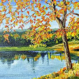 Autumn Lake by Tricia Lesky