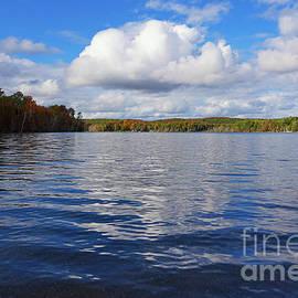 Autumn Lakeside by Rachel Cohen
