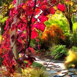 Autumn Leaf Swirl by Sea Change Vibes