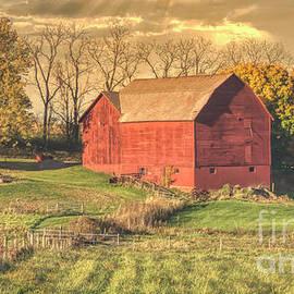 Autumn On A Pennsylvania Farm by Janice Pariza
