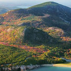 Autumn on Champlain Mountain by Kristen Wilkinson
