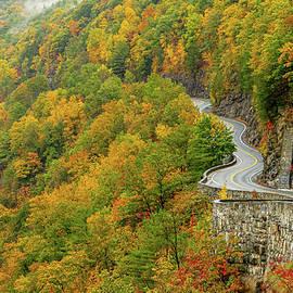 Autumn on the Hawk's Nest by Sean Sweeney