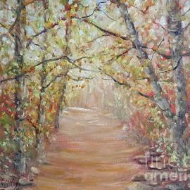 Autumn Path by Jean Costa