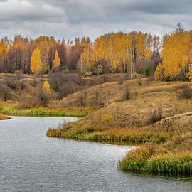 Autumn pond by Igor Klyakhin