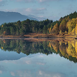 Autumn Reflected by Cliff Green
