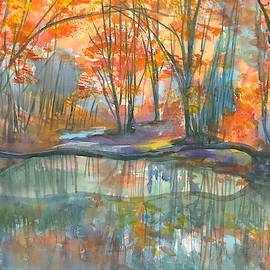 Autumn Reflection by Hiroko Stumpf