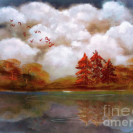 Autumn Reflections by Lois Bryan