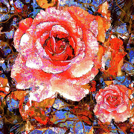 Autumn Sunset Rose by Natalie Holland