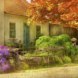 Autumn - The cottage on the corner by Mike Savad