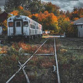 Autumn Train of Uxbridge by Dee Potter