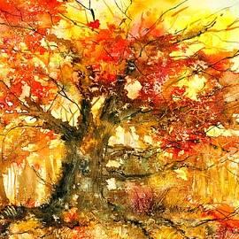 Autumn tree. by Nataliya Vetter