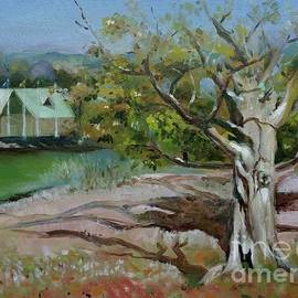 Autumn Tree by Yuson Yi