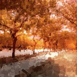 Autumn Walk by Alison Frank
