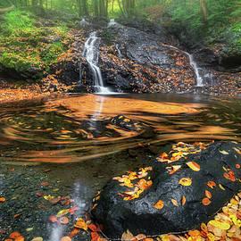 Autumn Whirlpool by Bill Wakeley