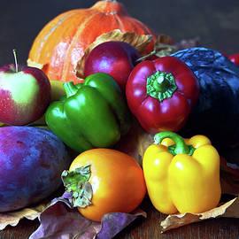 Vegan Still Life with Fruits by Silva Wischeropp