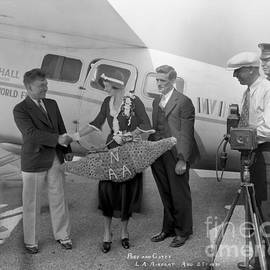 Aviators Wiley Post  and Harold Gatty Aug. 27, 1931 by California Views Archives Mr Pat Hathaway Archives