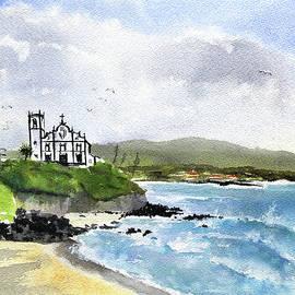 Azores Sao Roque Beach Ponta Delgada by Dora Hathazi Mendes