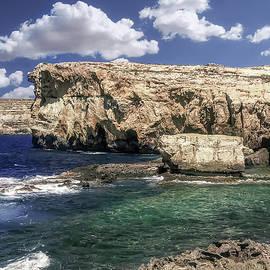Azure Window Attraction In Gozo Island by Mira Minerva
