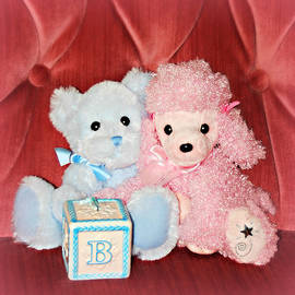B is for Baby Still Life - Square by Marilyn De Block