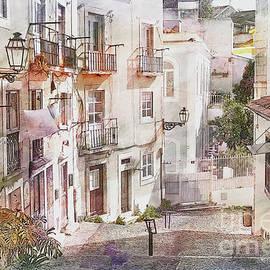 Back Street of Lisbon by Lynn Bolt