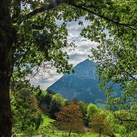 Backlighting to the Untzillaitz mountain by ACAs Photography