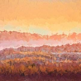 Badlands Abstract I by Susan Rydberg