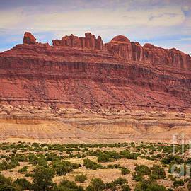 Badlands Utah Landscape  by Chuck Kuhn