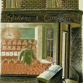Bakers and Confectioners by Eric Ravilious by Jack Torcello