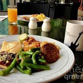 Bali Hard Rock Cafe Breakfasr by Eunice Warfel