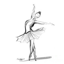 Ballerina 2 by Gary F Richards