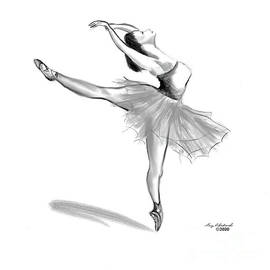 Ballerina 3 by Gary F Richards