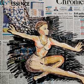 Ballet-2 by Anand Swaroop Manchiraju