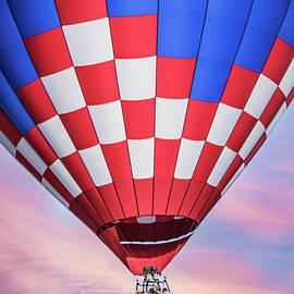 Balloon at Sunset by Mark Chandler