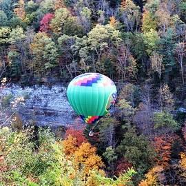 Ballooning Through Letchworth by Carol McGrath
