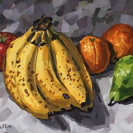 Bananas and Fruit by John Wallie