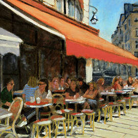 Bar Du Marche by David Zimmerman