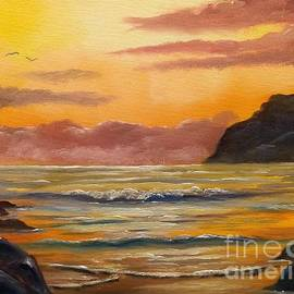 Bar Harbor Sunrise by Lee Piper