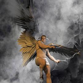 Barbarella's Angel by Joaquin Abella